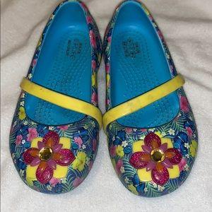 Girls Mutli Color Crocs